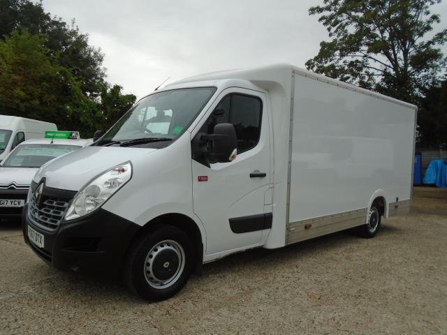2017 Renault Master L3 35 2.3DCI Low Loader Luton Van Twin Rear Doors Euro 6 (PO67DTX) Thumbnail 3