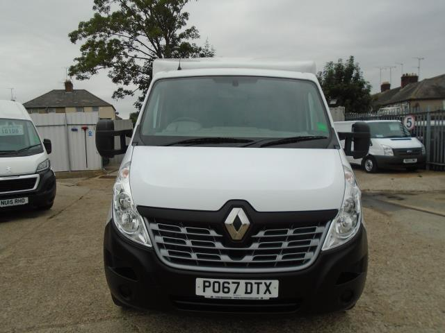 2017 Renault Master L3 35 2.3DCI Low Loader Luton Van Twin Rear Doors Euro 6 (PO67DTX) Thumbnail 2