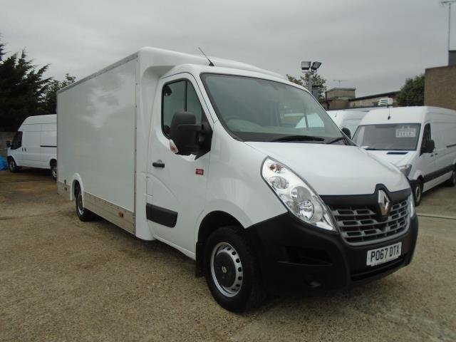 2017 Renault Master L3 35 2.3DCI Low Loader Luton Van Twin Rear Doors Euro 6 (PO67DTX)