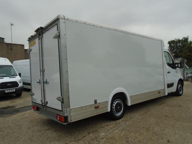 2017 Renault Master L3 35 2.3DCI Low Loader Luton Van Twin Rear Doors Euro 6 (PO67DTX) Thumbnail 6
