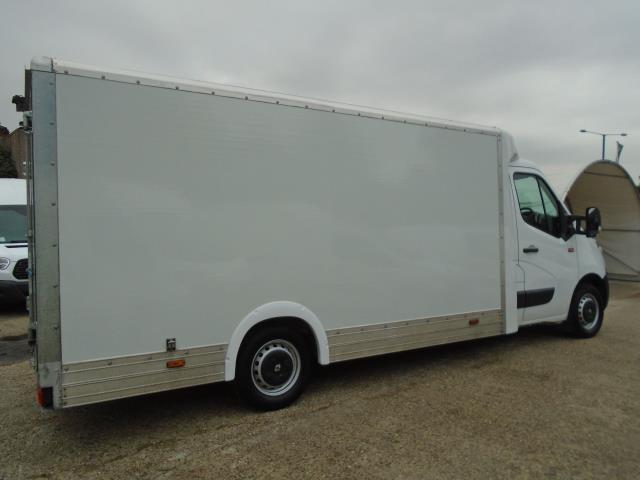 2017 Renault Master L3 35 2.3DCI Low Loader Luton Van Twin Rear Doors Euro 6 (PO67DTX) Thumbnail 7
