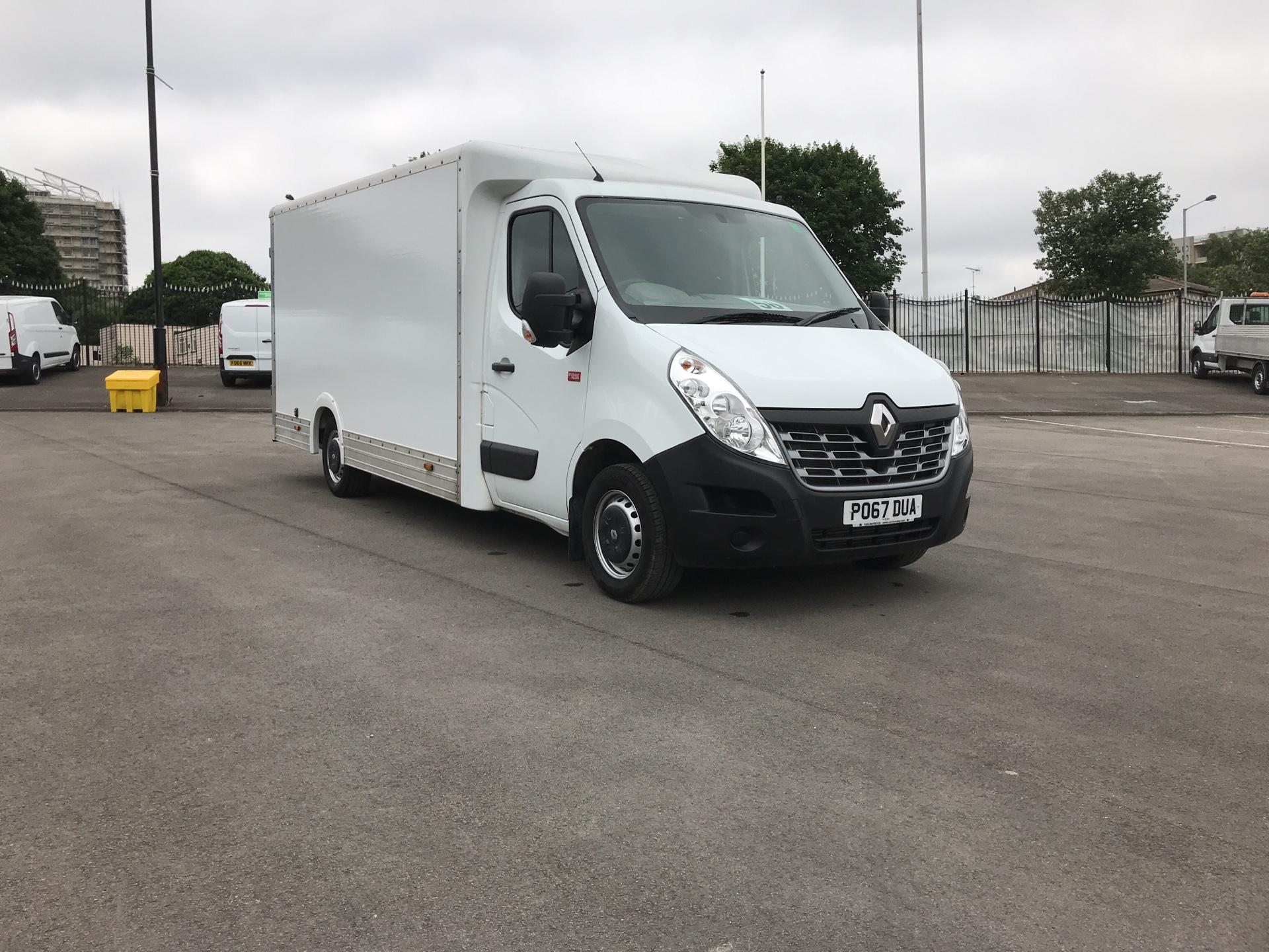 2017 Renault Master BUSINESS+ LOW LOADER LUTON BOX W/ BARN DOORS (PO67DUA)