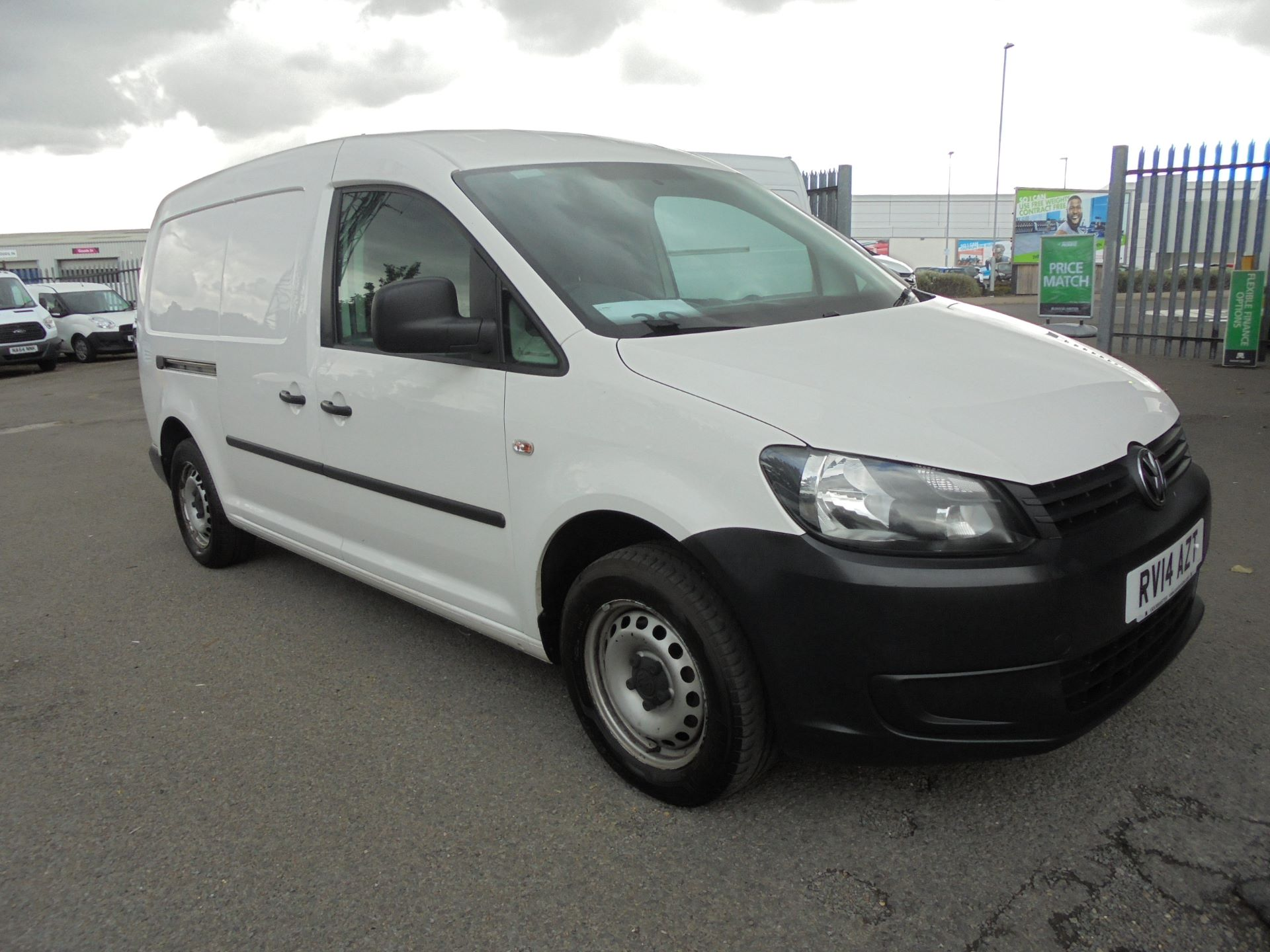 2014 Volkswagen Caddy Maxi  1.6 102PS STARTLINE EURO 5 (RV14AZT)