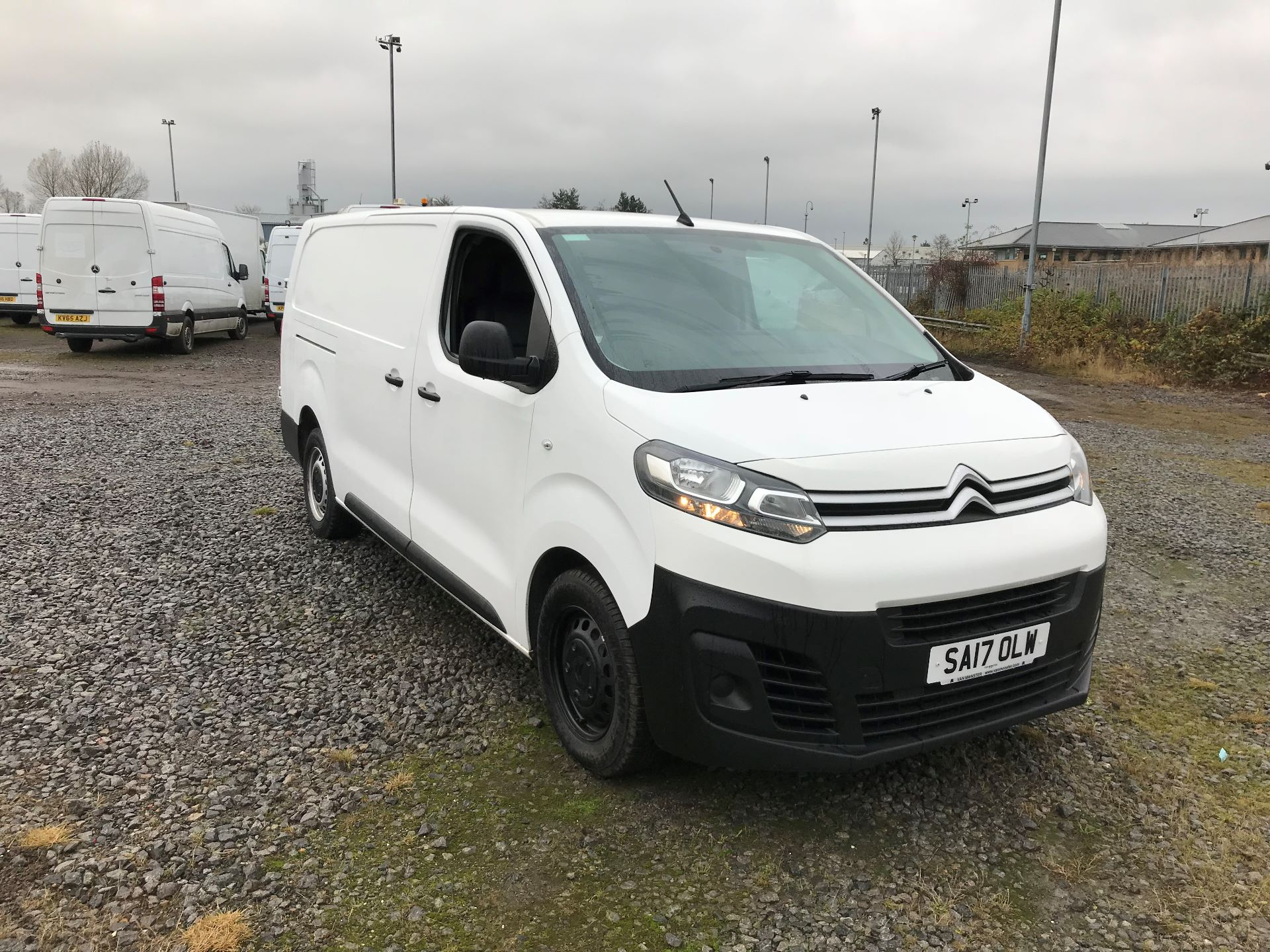 2017 Citroen Dispatch 1400 2.0 Bluehdi 120 Van Enterprise (SA17OLW)