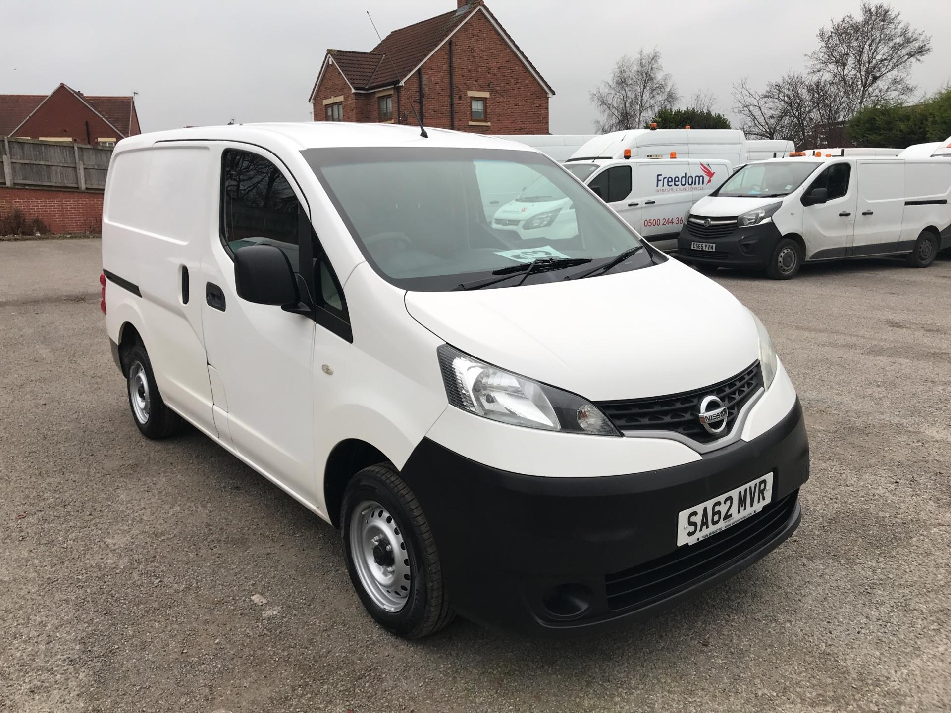 2012 Nissan Nv200 1.5 Dci 89 Se Van EURO 5 -*VALUE RANGE VEHICLE - CONDITION REFLECTED IN PRICE* (SA62MVR)