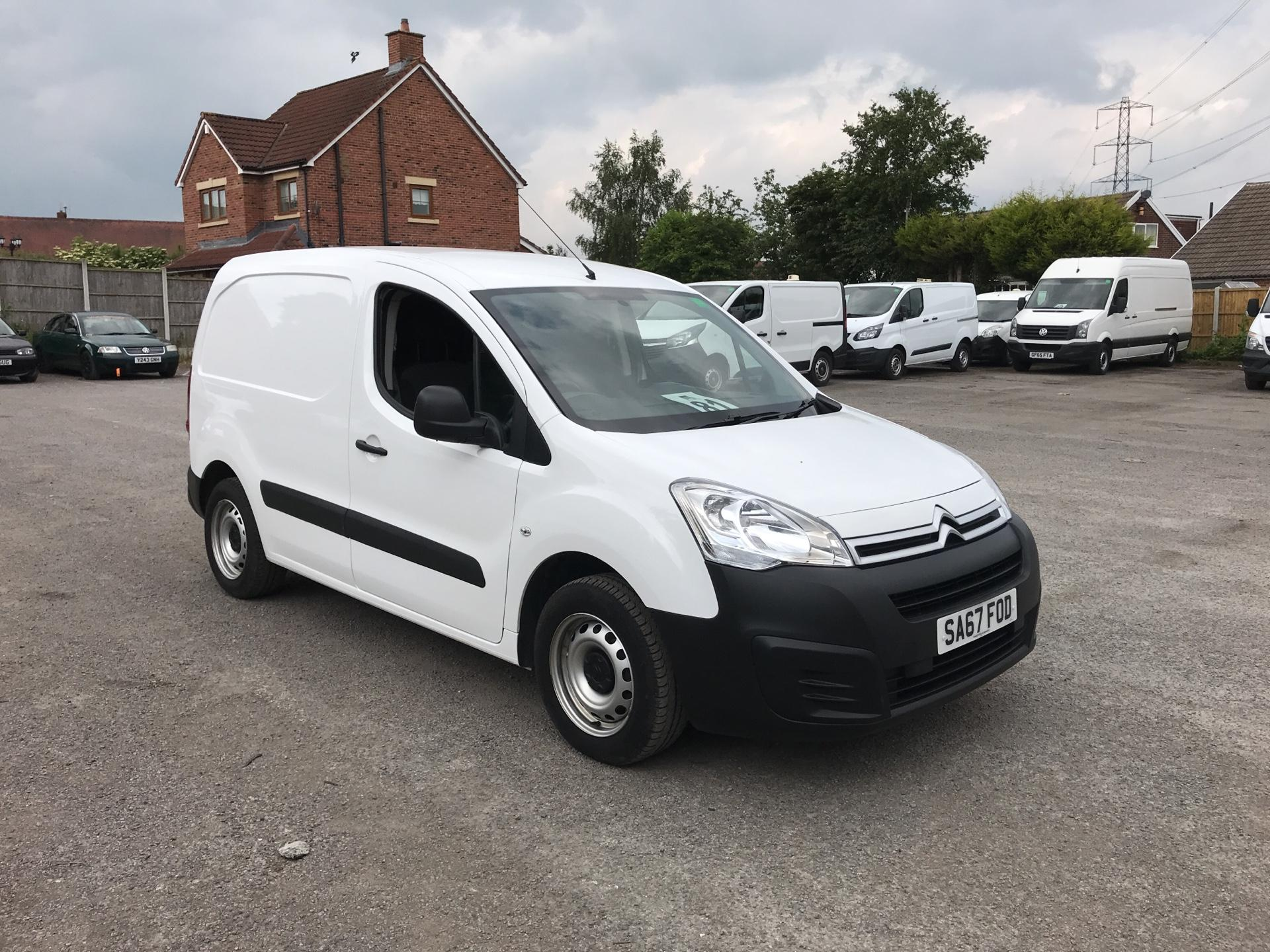 2017 Citroen Berlingo L1 1.6 Bluehdi 625Kg Lx 75Ps EURO 6 (SA67FOD)