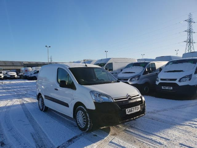 2017 Citroen Berlingo L1 DIESEL 1.6 BLUE HDI 625KG ENTERPRISE 75PS EURO 6 (SA67FOH)