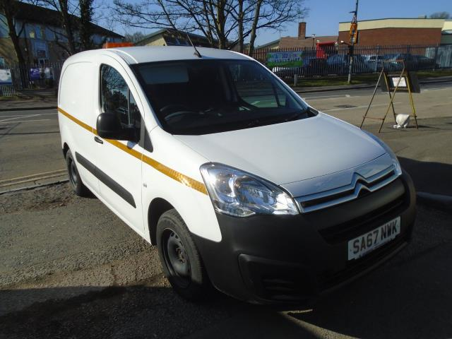 2017 Citroen Berlingo 1.6 Bluehdi 625Kg Enterprise 75Ps (SA67NWK)