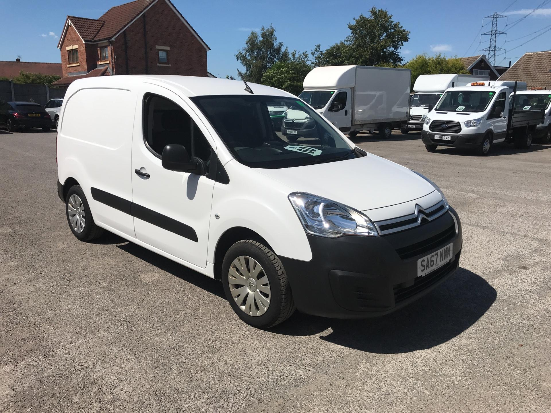 2017 Citroen Berlingo L1 DIESEL 1.6 BLUE HDI 625KG ENTERPRISE 75PS EURO 6 (SA67NWM)