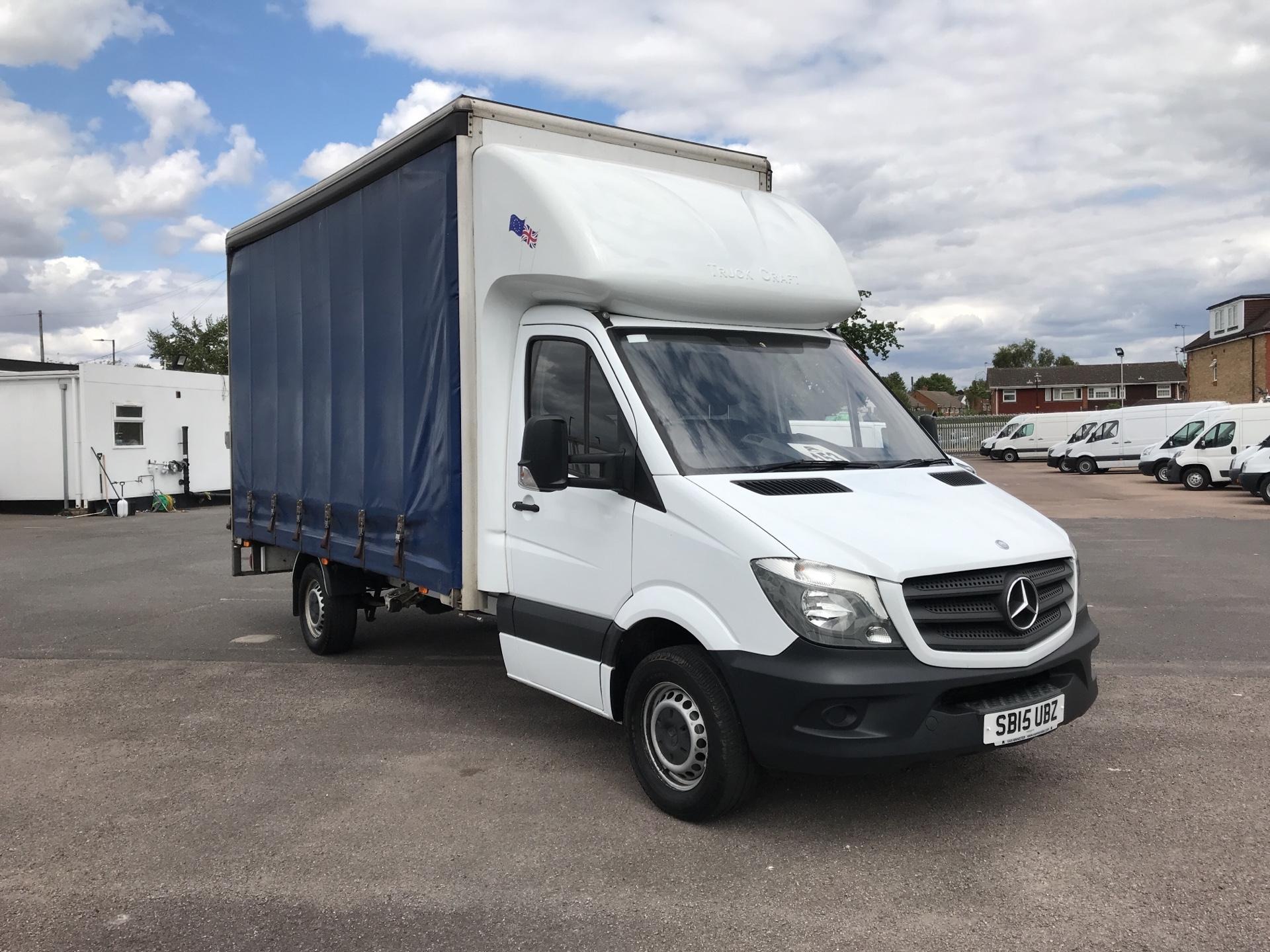 2015 Mercedes-Benz Sprinter   313 LWB LONG LUTON EURO 5 (SB15UBZ)