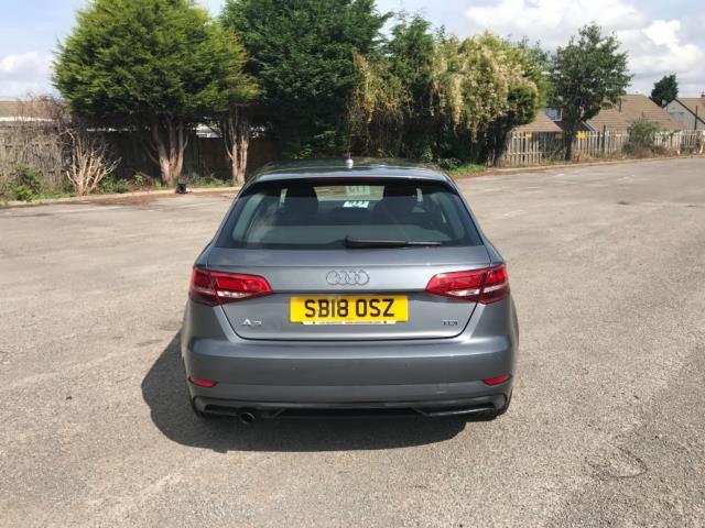 2018 Audi A3 1.6 Tdi 116 Se Technik 5Dr S Tronic (SB18OSZ) Image 6