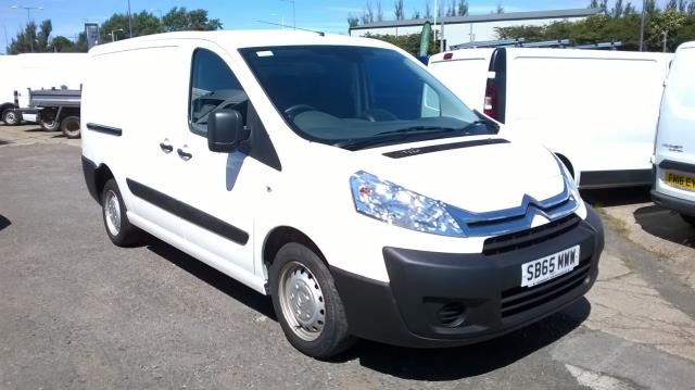 2015 Citroen Dispatch 1200 2.0 Hdi 125 H1 L2 Van Enterprise EURO 5 (SB65MWW)