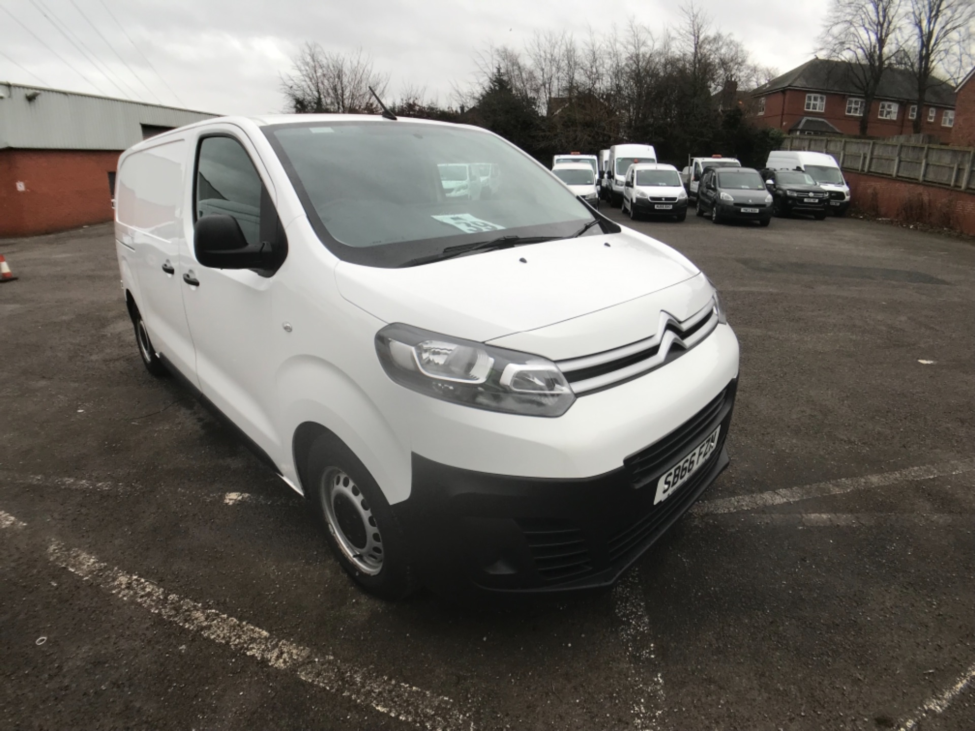 2016 Citroen Dispatch DIESEL 1000 1.6 BlueHDI 115 Enterprise EURO 6 (SB66FZN)
