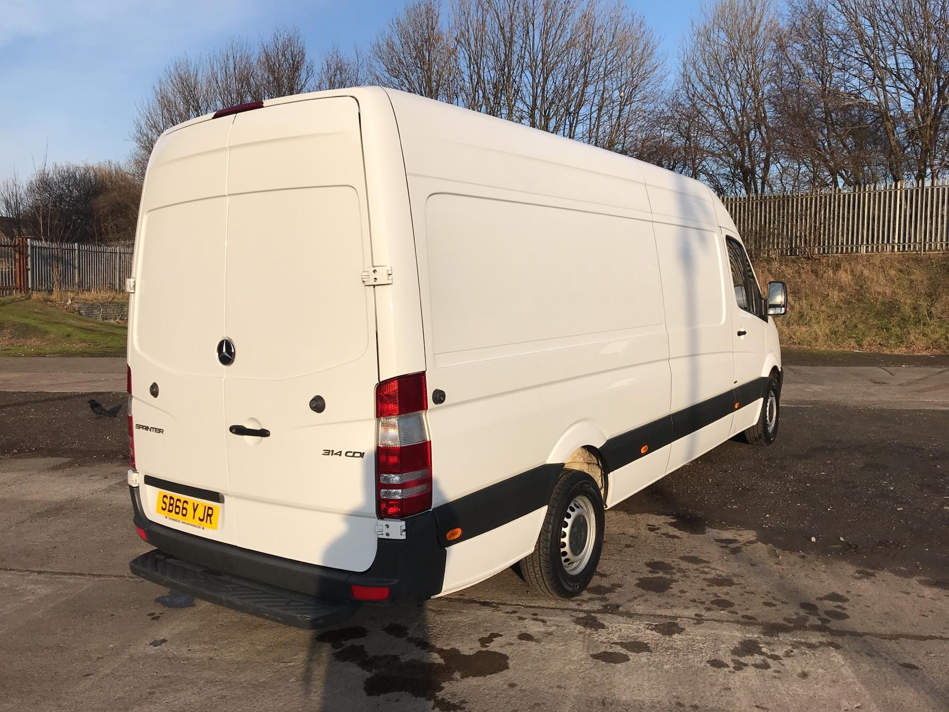 2016 Mercedes-Benz Sprinter 314 CDI LWB HIGH ROOF VAN EURO 6 (SB66YJR) Thumbnail 3
