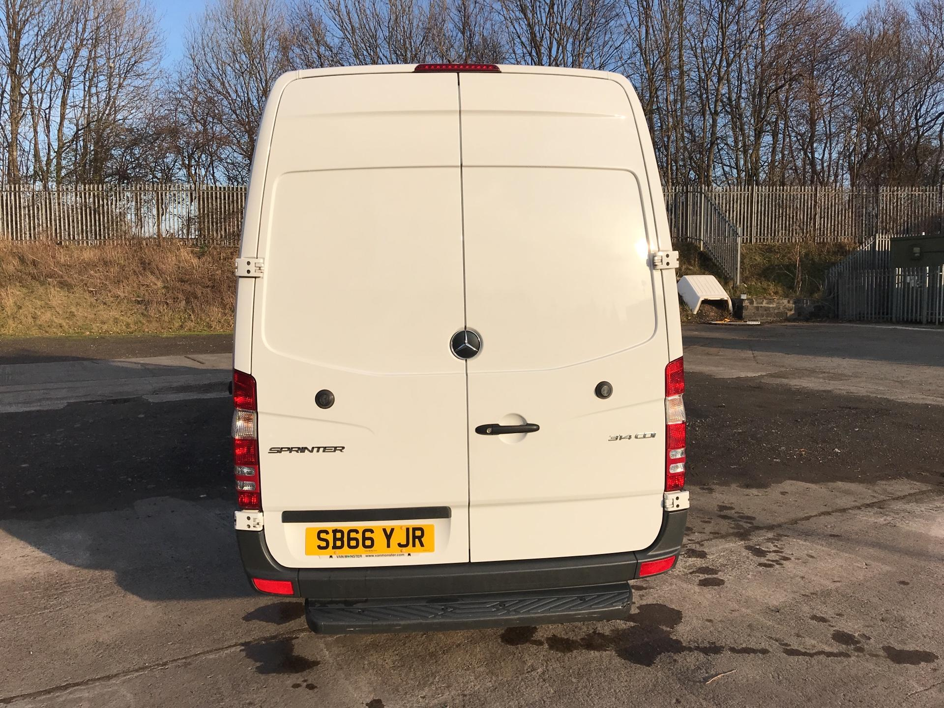 2016 Mercedes-Benz Sprinter 314 CDI LWB HIGH ROOF VAN EURO 6 (SB66YJR) Thumbnail 4