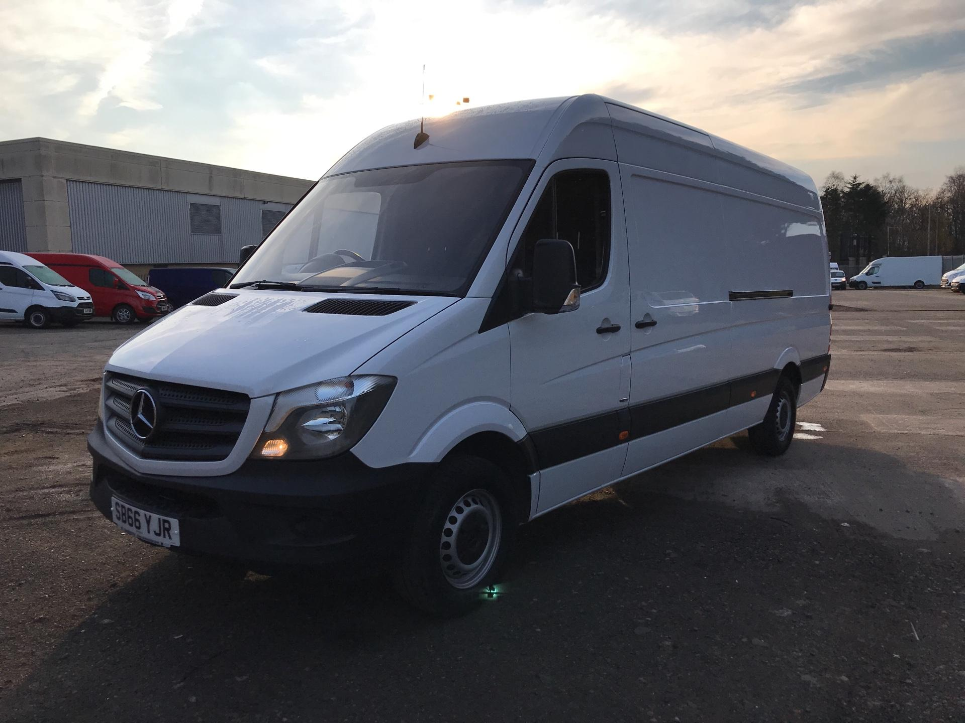 2016 Mercedes-Benz Sprinter 314 CDI LWB HIGH ROOF VAN EURO 6 (SB66YJR) Image 7