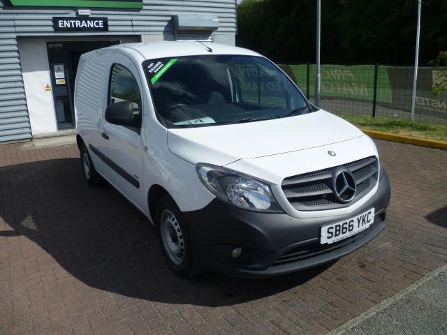 2016 Mercedes-Benz Citan 109Cdi Blueefficiency Van EURO 6 (SB66YKC)
