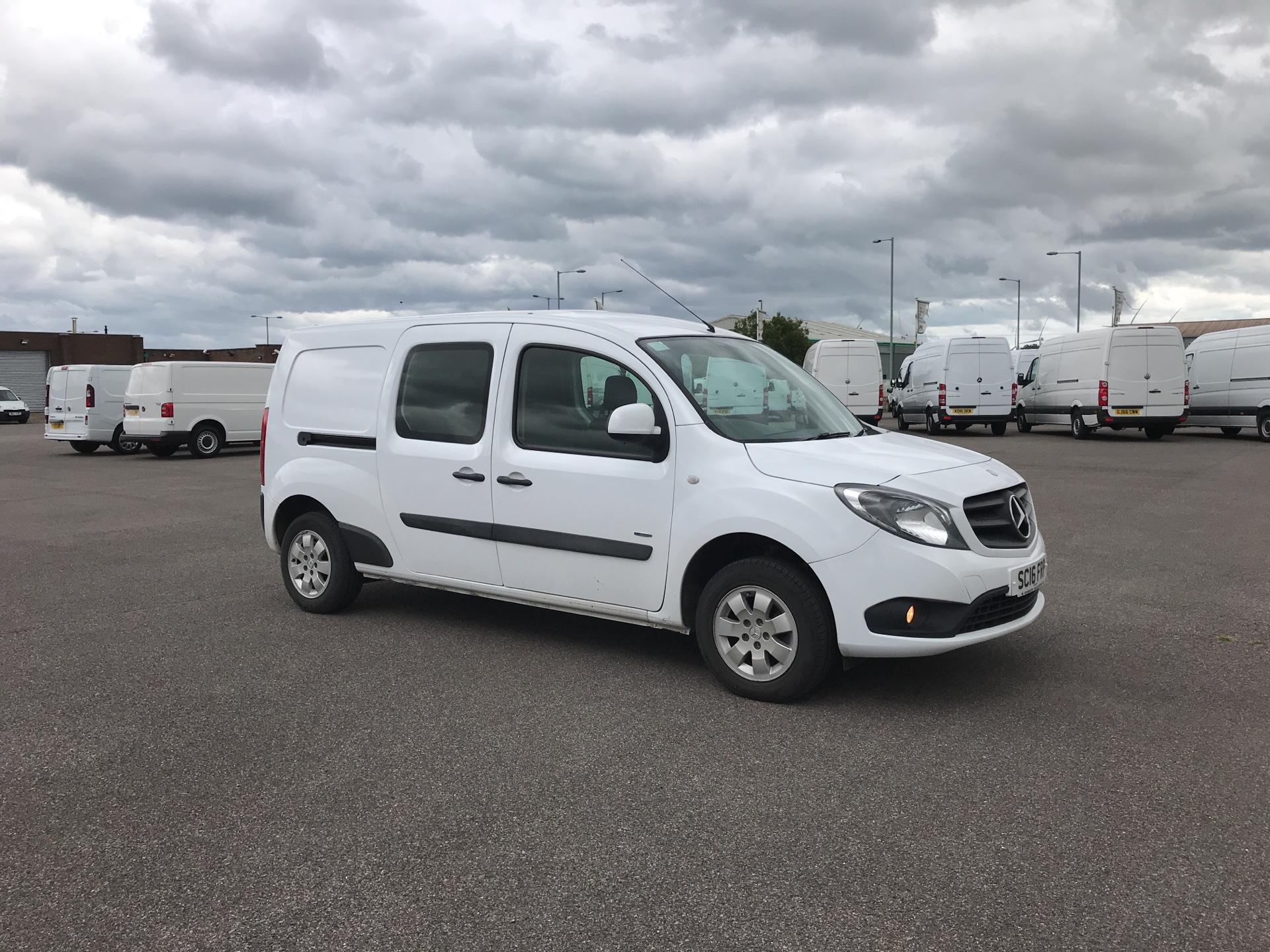 2016 Mercedes-Benz Citan 109 CDI BLUE EFFICIENCY LWB DUALINER CREW (SC16FRP)