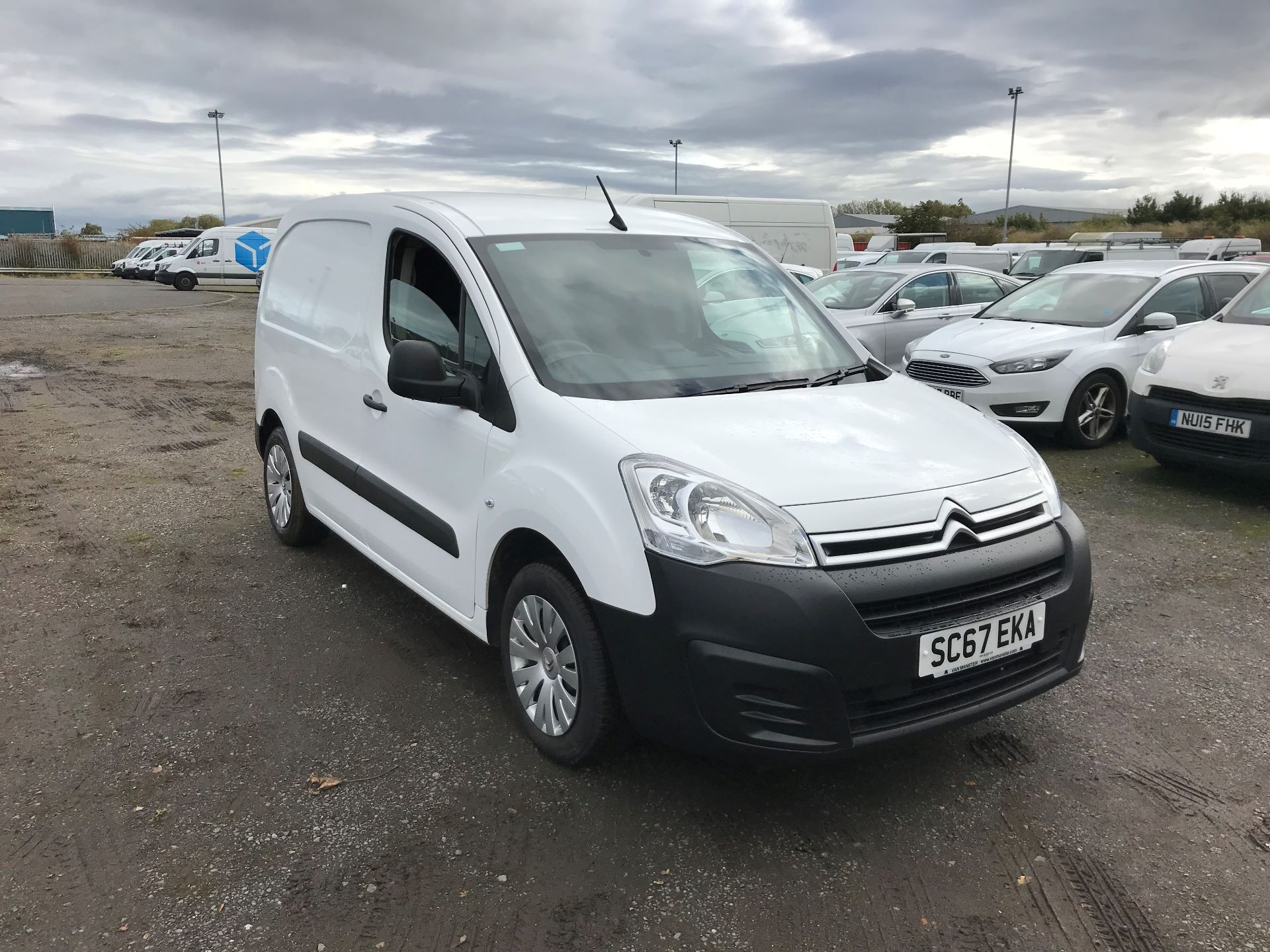 2018 Citroen Berlingo 1.6 Bluehdi 625Kg Enterprise 75Ps (SC67EKA)