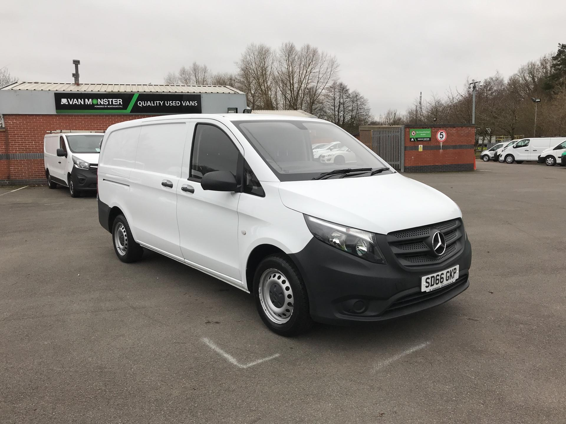 2016 Mercedes-Benz Vito LONG 114CDI VAN EURO 5/6  (SD66GKP)