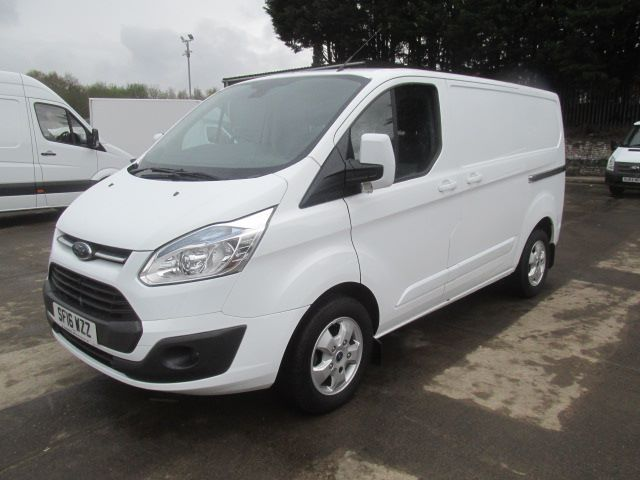 2016 Ford Transit Custom 270 L1 H1 2.2 Tdci 125Ps Limited Van (SF16WZZ) Image 23