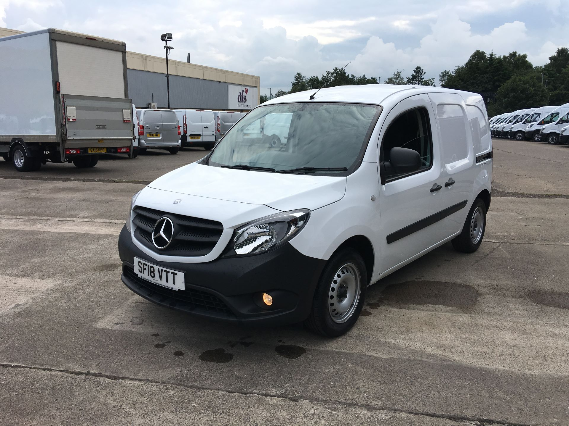 2018 Mercedes-Benz Citan LWB 109 CDI BLUE EFFICIENCY VAN EURO 5/6 (SF18VTT) Thumbnail 16