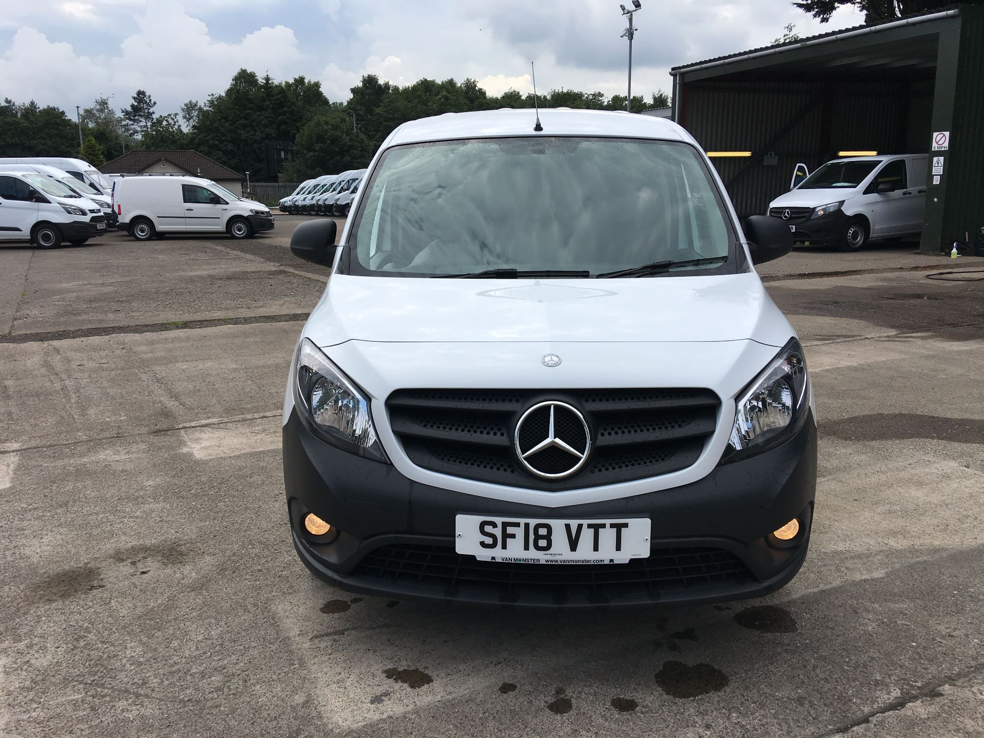 2018 Mercedes-Benz Citan LWB 109 CDI BLUE EFFICIENCY VAN EURO 5/6 (SF18VTT) Image 17