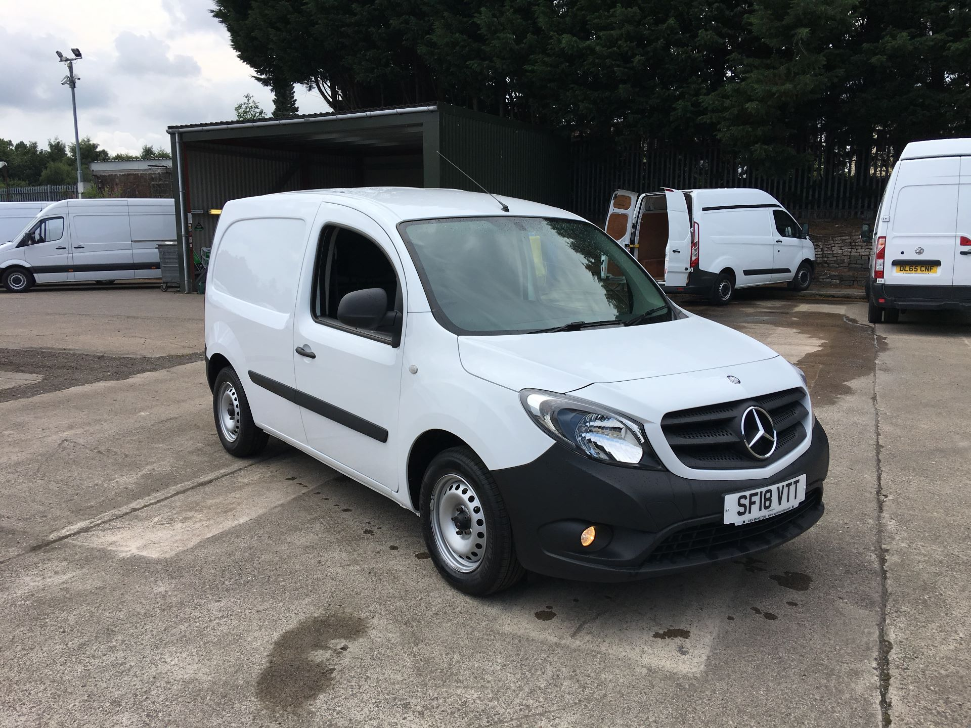 2018 Mercedes-Benz Citan LWB 109 CDI BLUE EFFICIENCY VAN EURO 5/6 (SF18VTT) Thumbnail 1