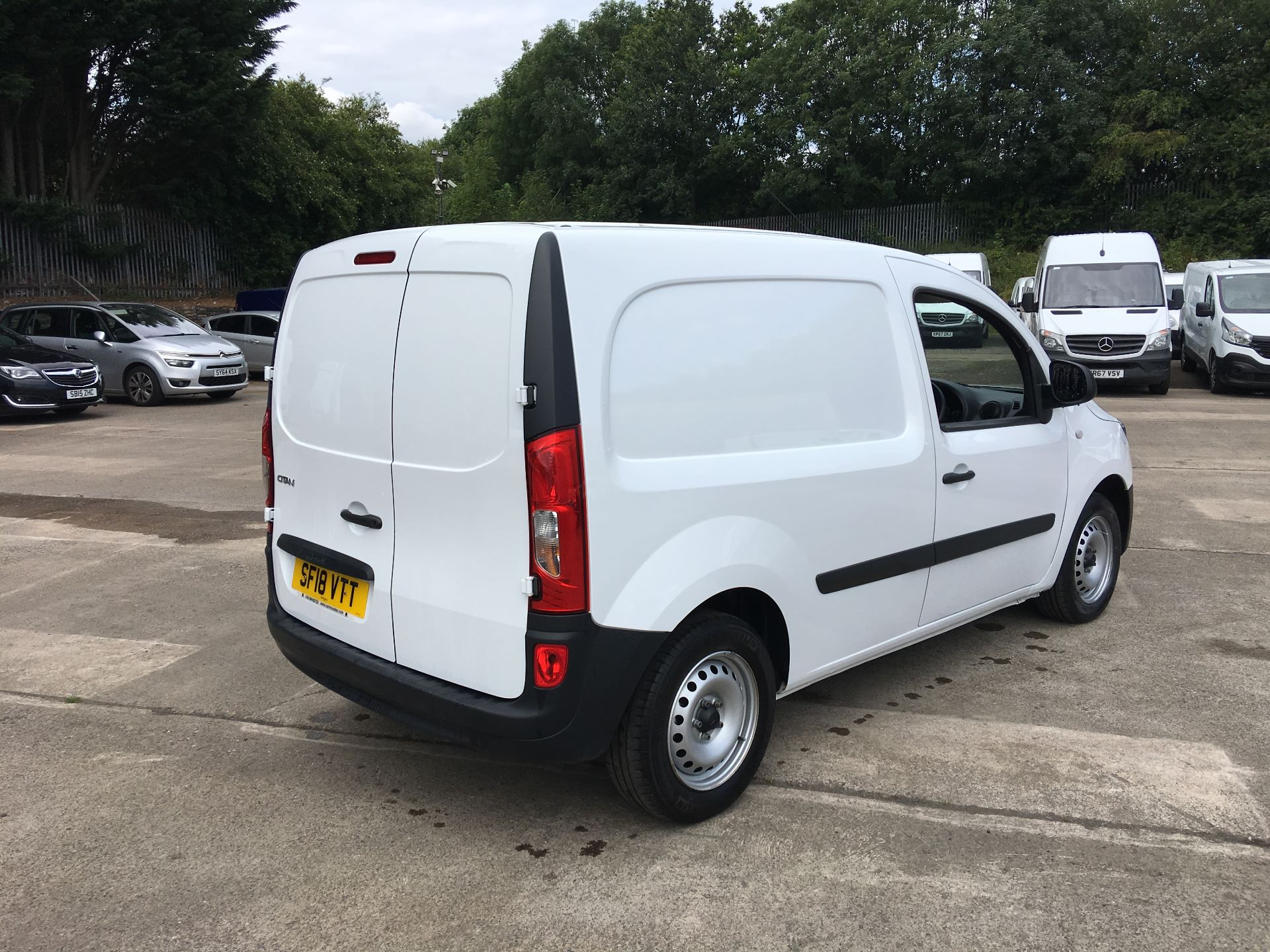 2018 Mercedes-Benz Citan LWB 109 CDI BLUE EFFICIENCY VAN EURO 5/6 (SF18VTT) Image 10