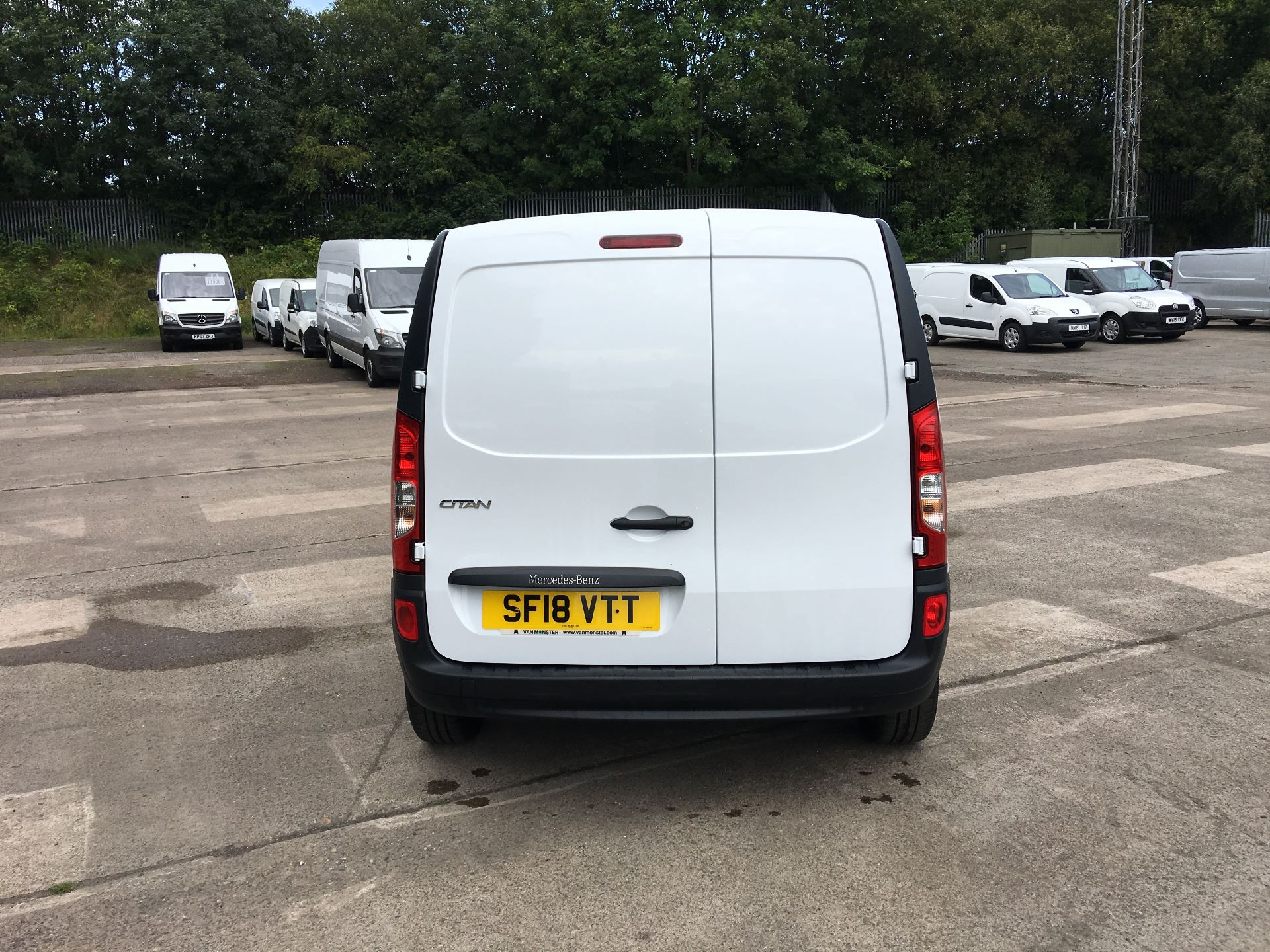2018 Mercedes-Benz Citan LWB 109 CDI BLUE EFFICIENCY VAN EURO 5/6 (SF18VTT) Image 11