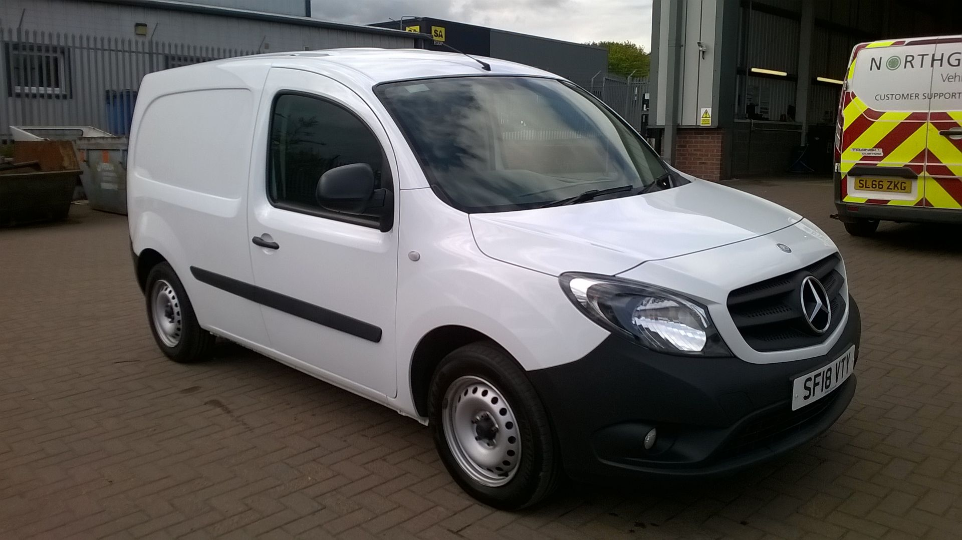 2018 Mercedes-Benz Citan 109 Cdi Blueefficiency Euro 6 (SF18VTY)