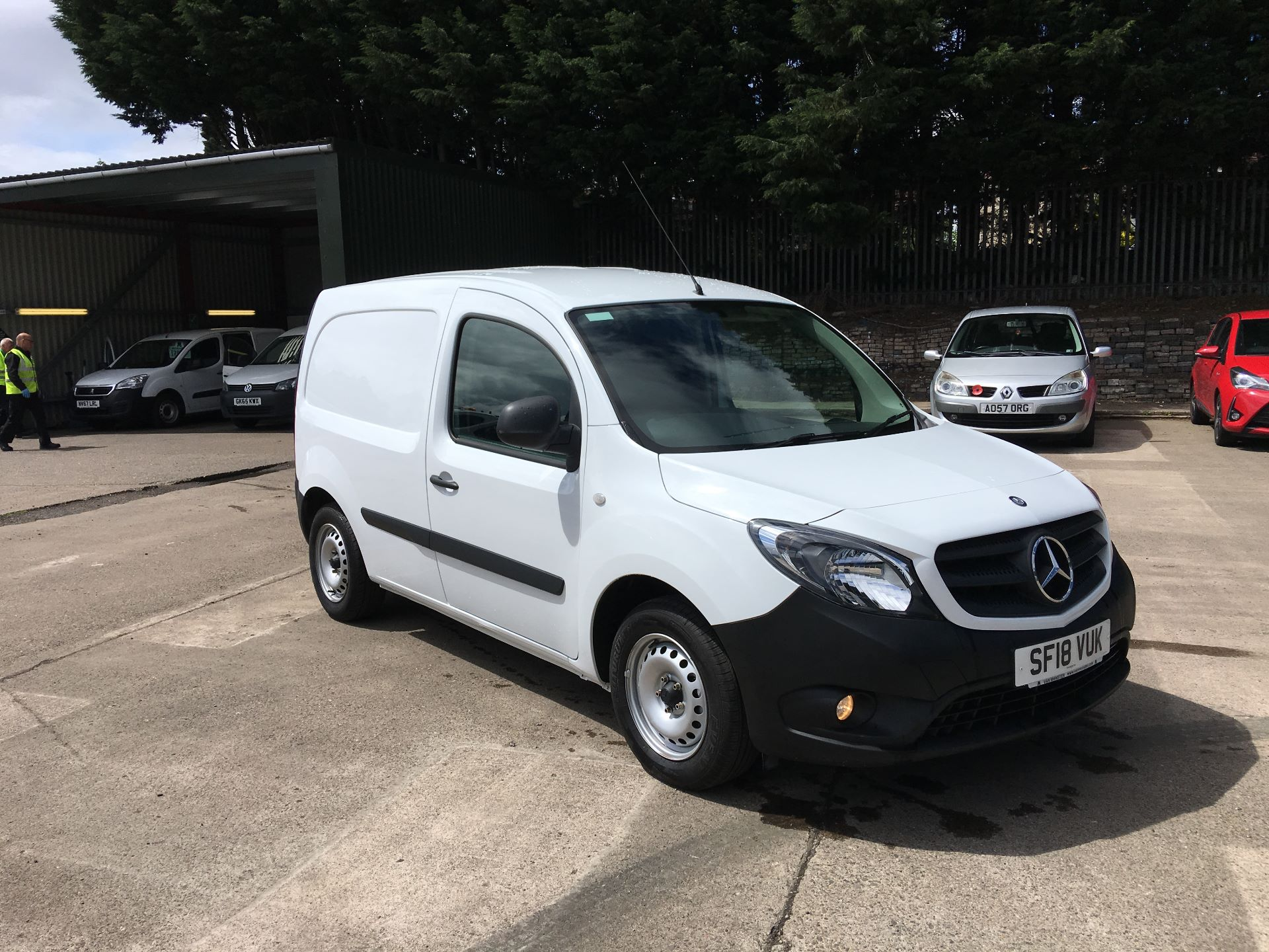 2018 Mercedes-Benz Citan LWB 109 CDI BLUE EFFICIENCY VAN EURO 5/6 (SF18VUK)