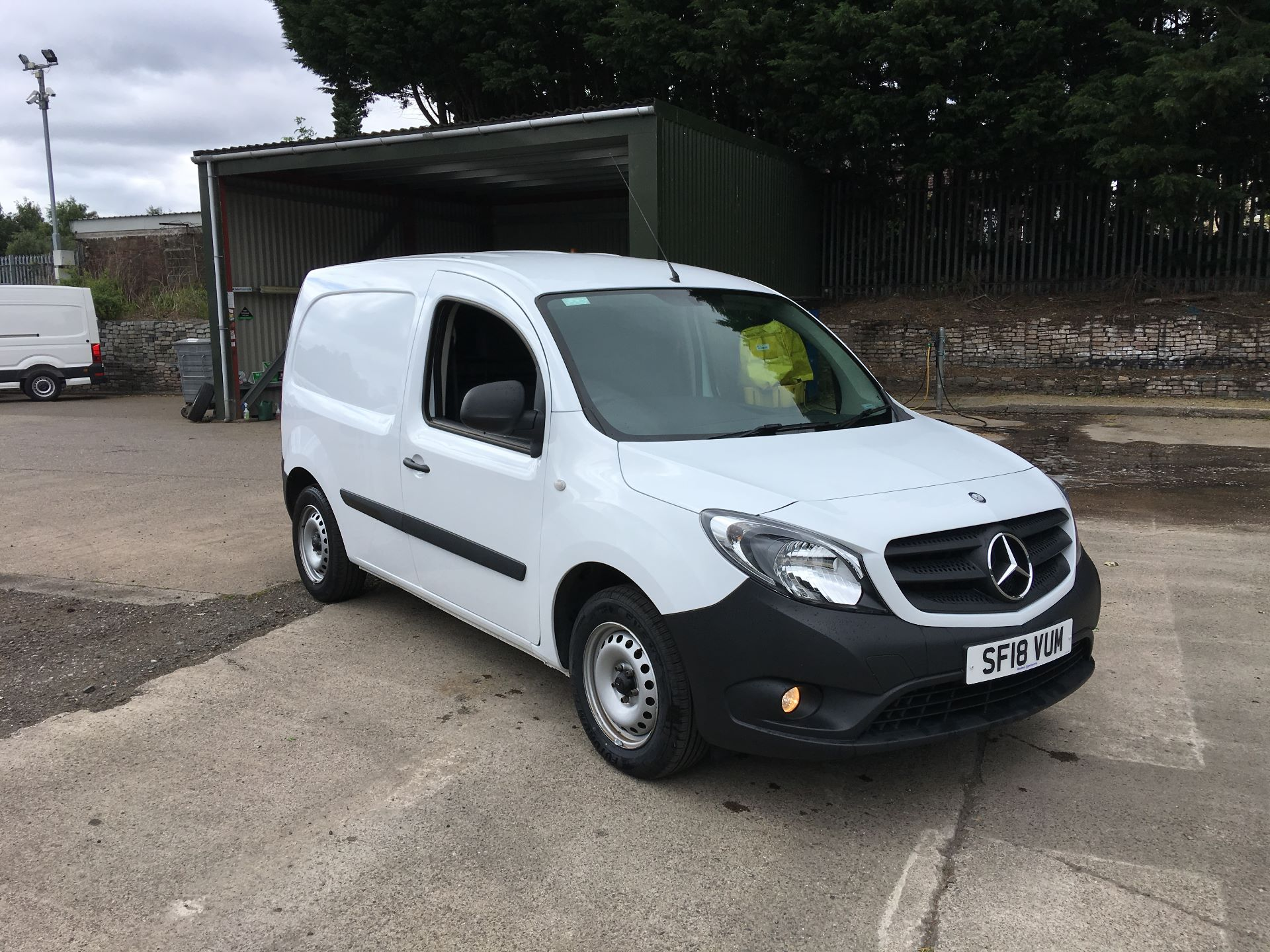 2018 Mercedes-Benz Citan LWB 109 CDI BLUE EFFICIENCY VAN EURO 5/6 (SF18VUM)