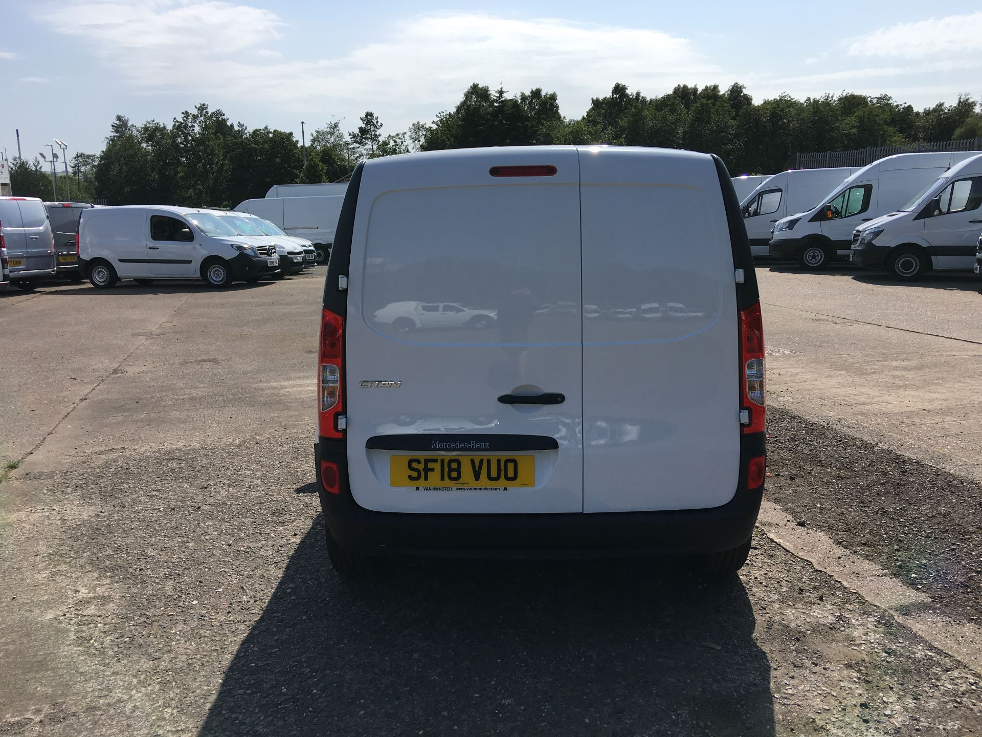 2018 Mercedes-Benz Citan LWB 109 CDI BLUE EFFICIENCY VAN EURO 5/6 (SF18VUO) Image 11