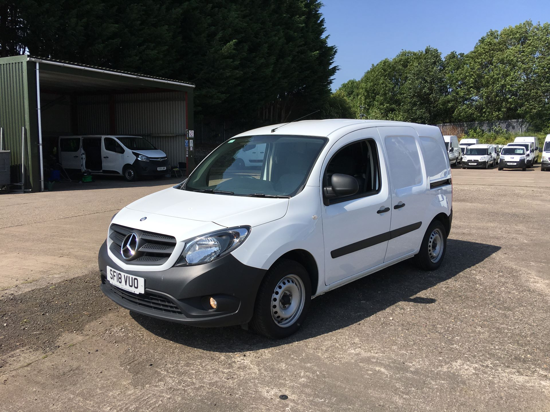 2018 Mercedes-Benz Citan LWB 109 CDI BLUE EFFICIENCY VAN EURO 5/6 (SF18VUO) Image 15