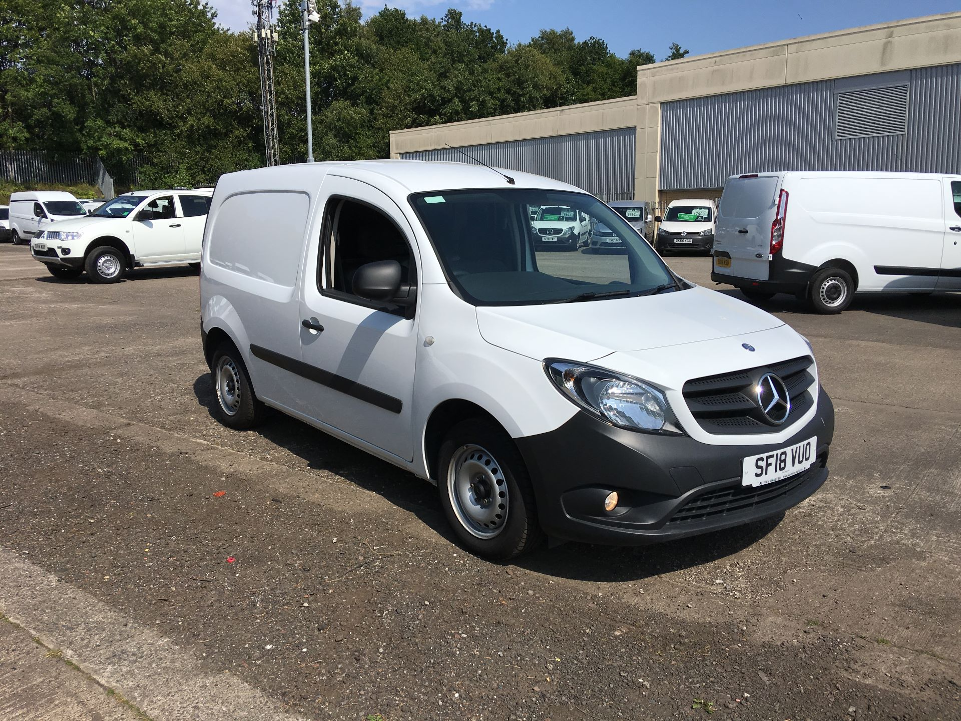 2018 Mercedes-Benz Citan LWB 109 CDI BLUE EFFICIENCY VAN EURO 5/6 (SF18VUO) Image 1