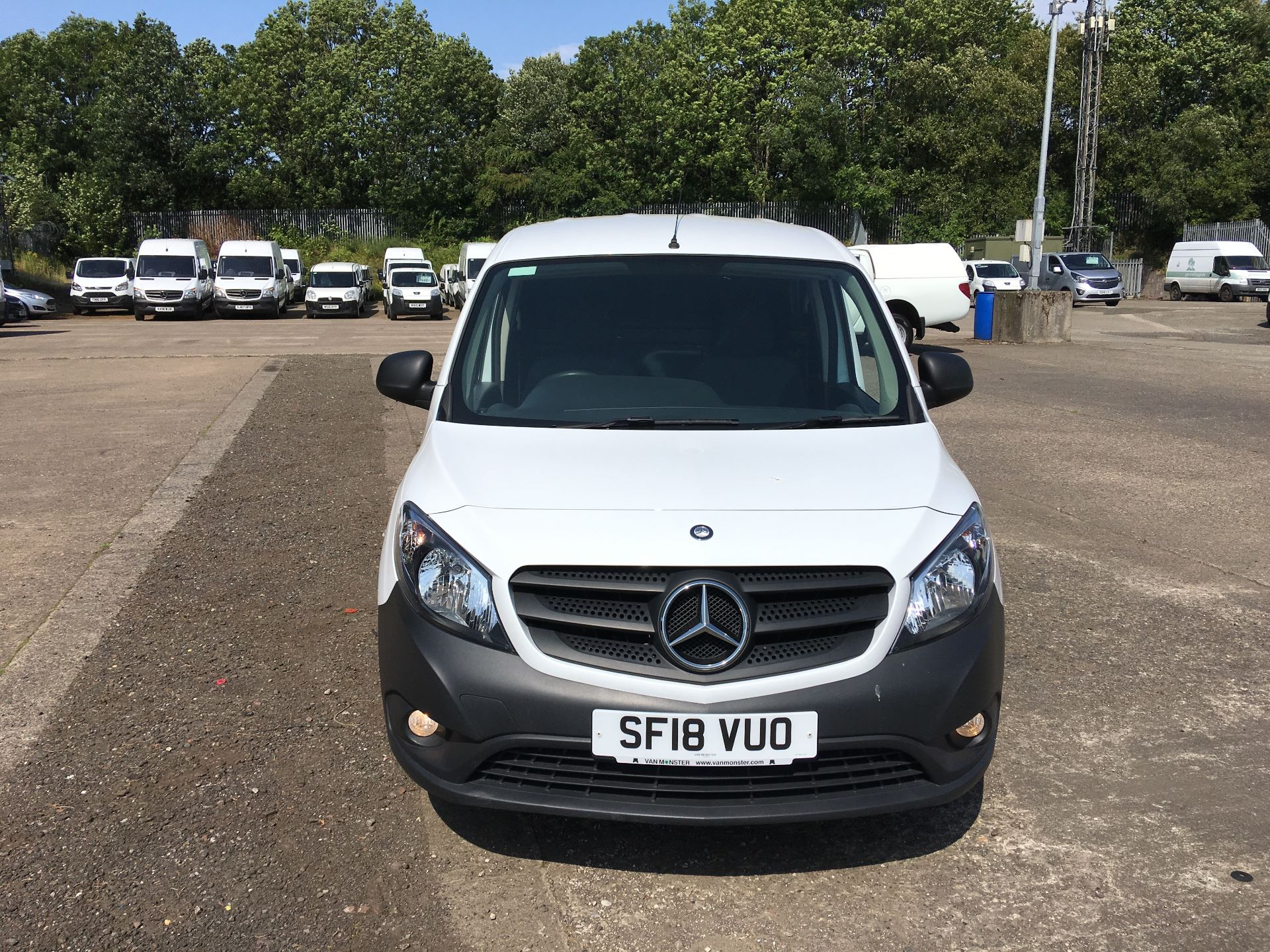 2018 Mercedes-Benz Citan LWB 109 CDI BLUE EFFICIENCY VAN EURO 5/6 (SF18VUO) Image 16