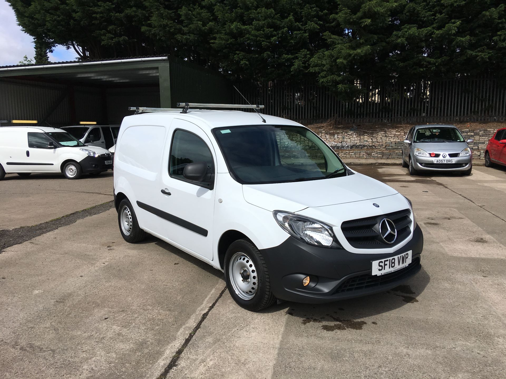 2018 Mercedes-Benz Citan LWB 109 CDI BLUE EFFICIENCY VAN EURO 5/6 (SF18VWP)