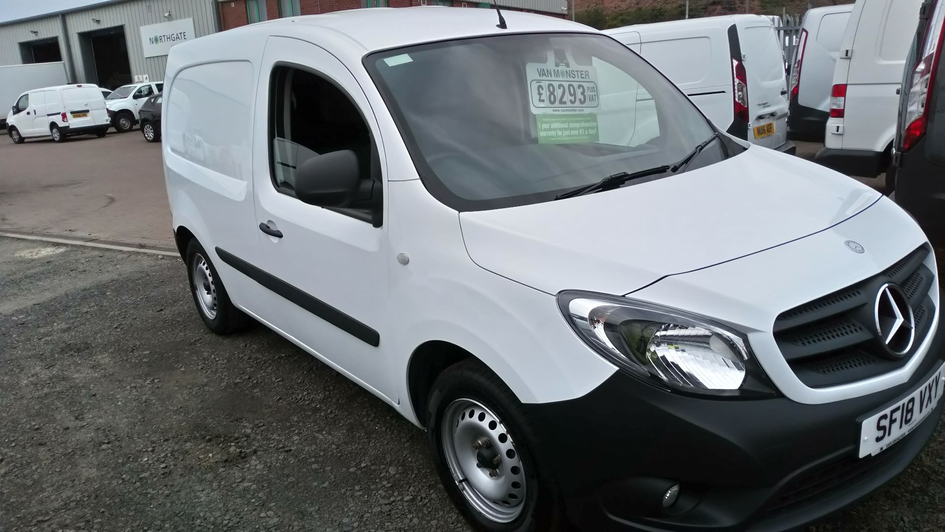 2018 Mercedes-Benz Citan 109 Cdi Blueefficiency (SF18VXY) Image 2