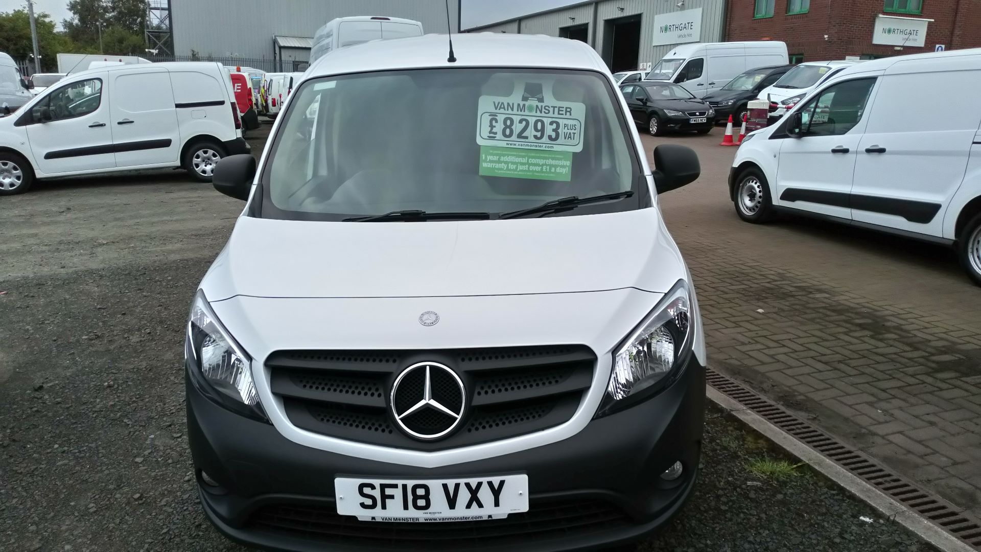 2018 Mercedes-Benz Citan 109 Cdi Blueefficiency (SF18VXY) Image 1