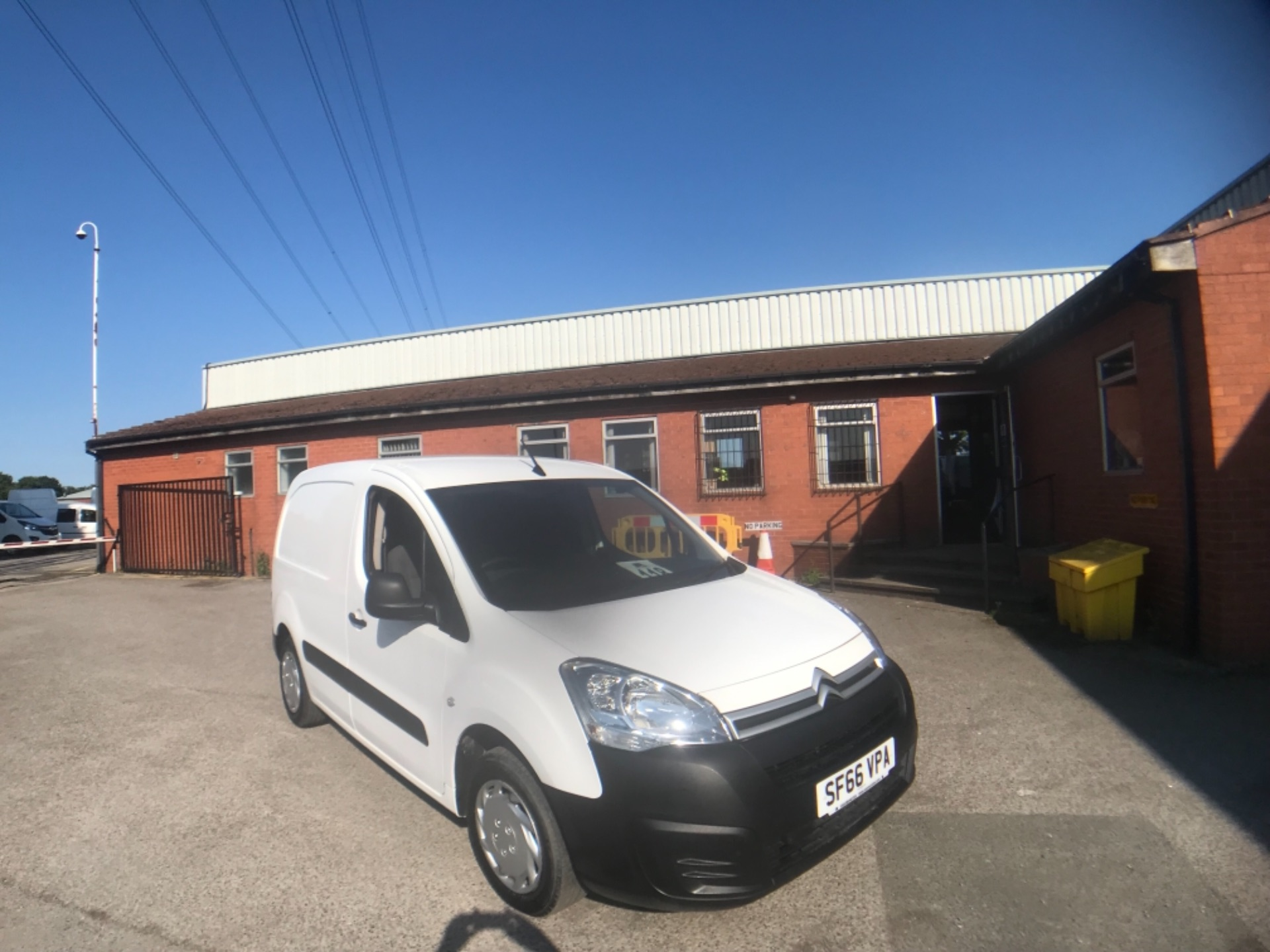 2016 Citroen Berlingo L1 DIESEL 1.6 BlueHDI 625KG ENTERPRISE 75PS EURO 6 (SF66VPA)