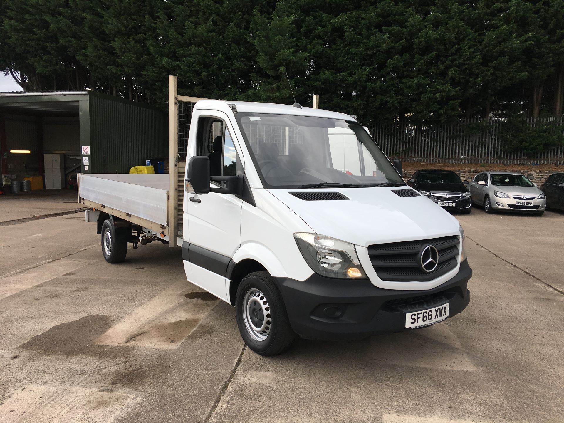 2016 Mercedes-Benz Sprinter 313 CDI LWB DROPSIDE (SF66XWX)