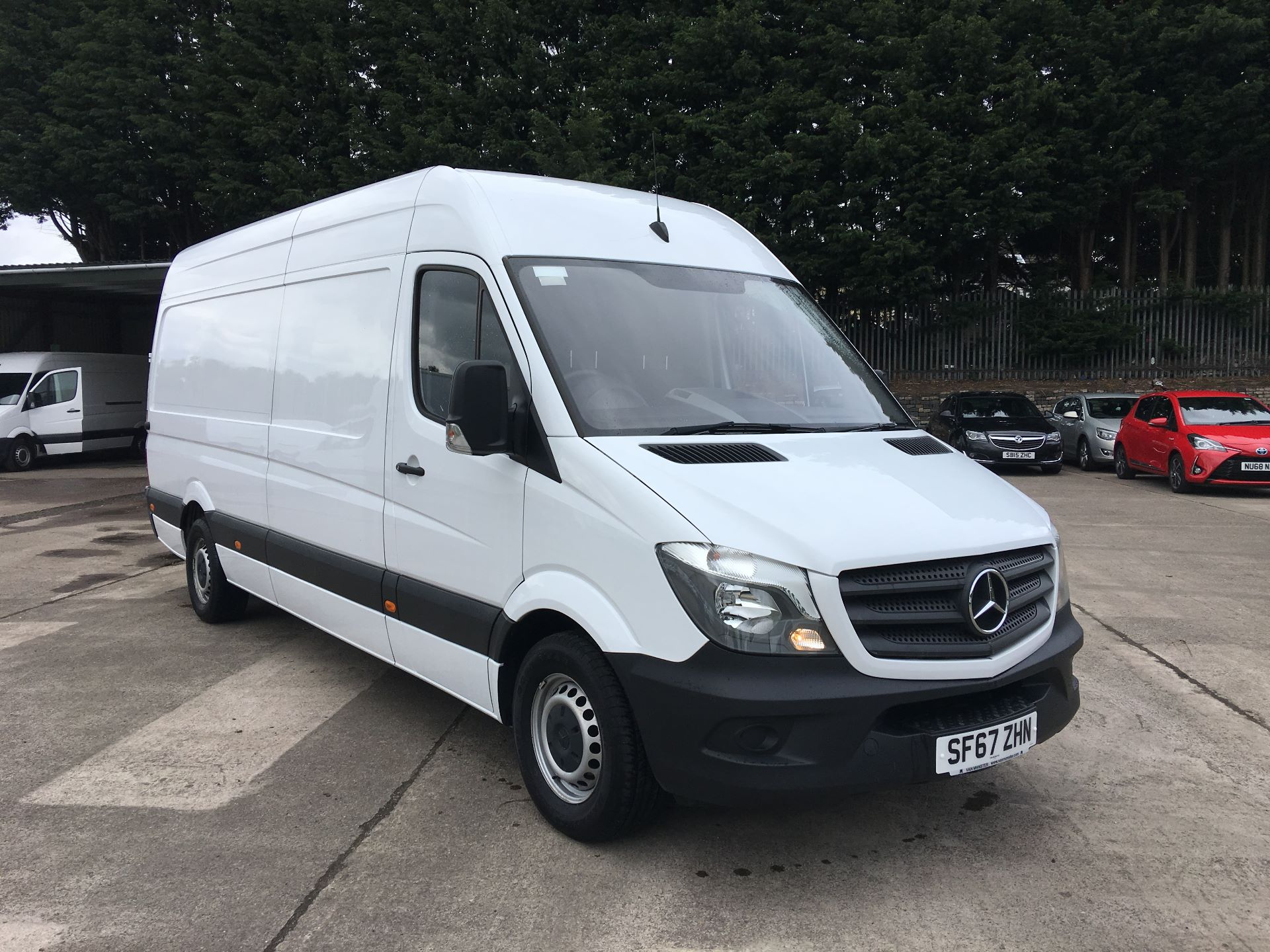2017 Mercedes-Benz Sprinter 314 CDI LWB HIGH ROOF VAN EURO 6 (SF67ZHN)