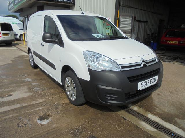 2017 Citroen Berlingo 1.6 Bluehdi 625Kg Enterprise 75Ps (SG17EXU)
