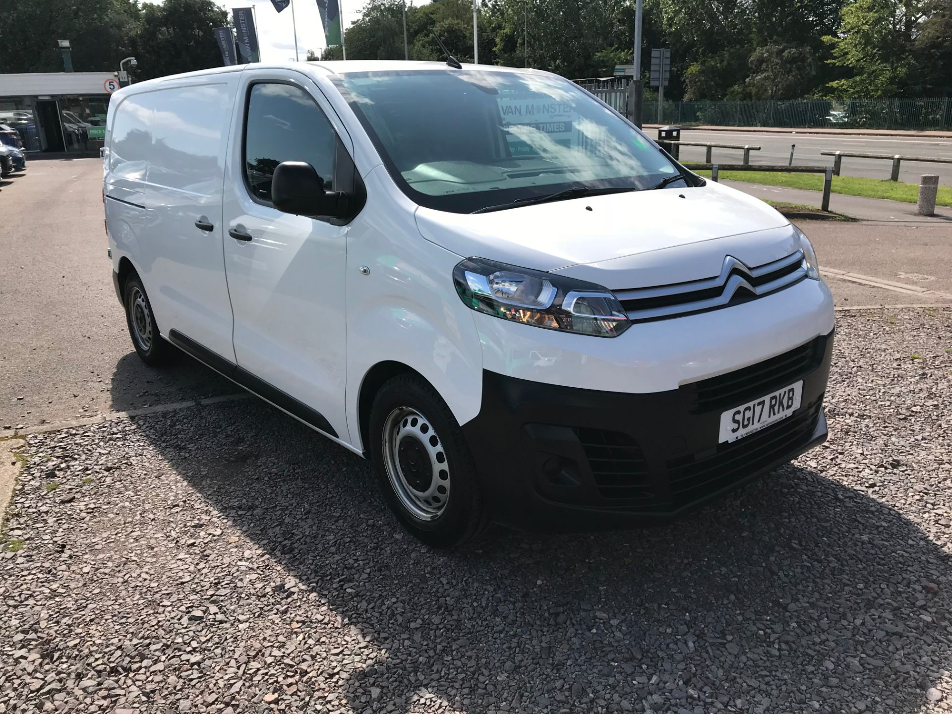2017 Citroen Dispatch DIESEL 1000 1.6 BLUEHDI 115 ENTERPRISE EURO 6 (SG17RKB)