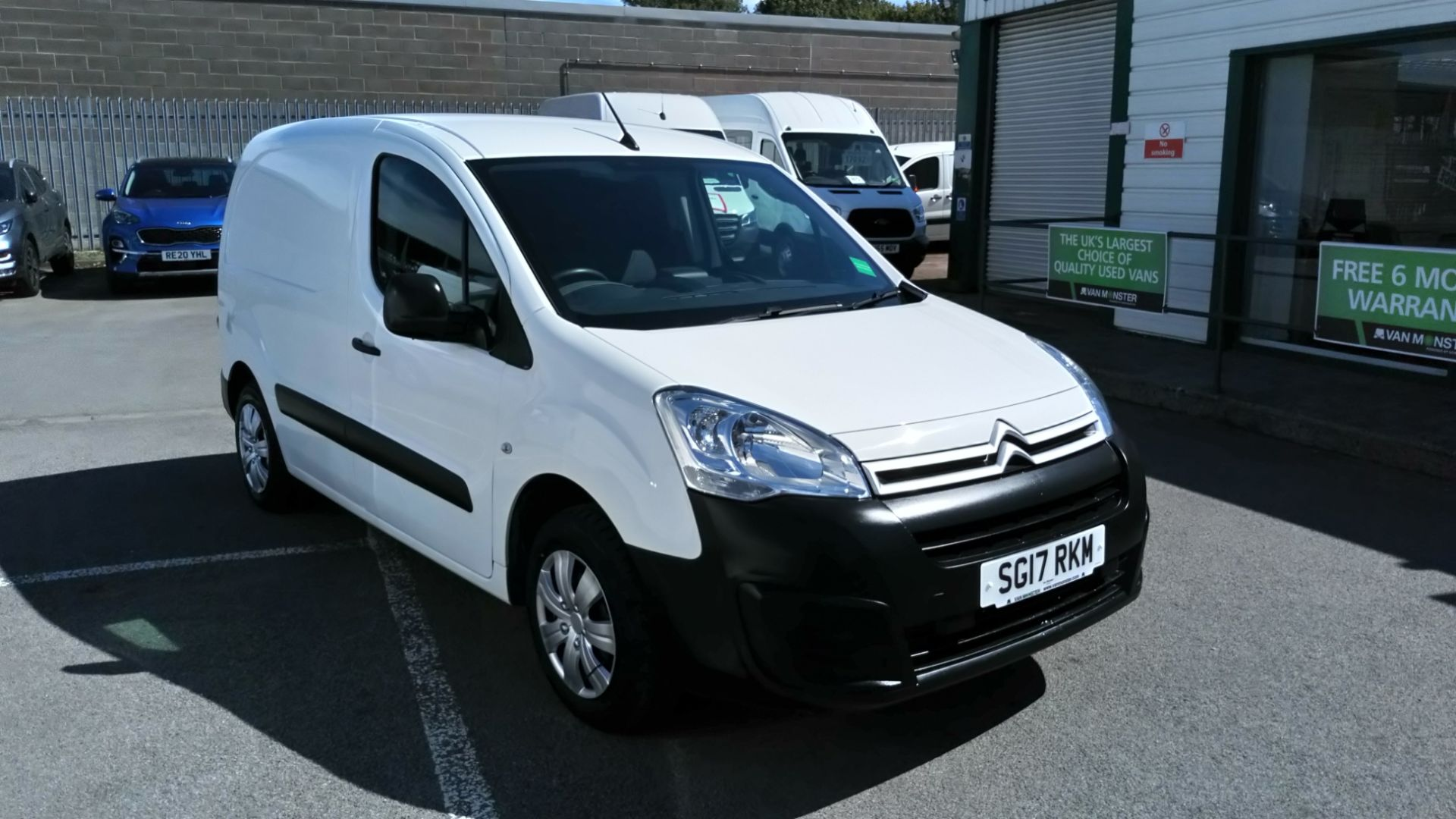 2017 Citroen Berlingo 1.6 Bluehdi 625Kg Enterprise 75Ps (SG17RKM)