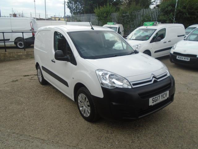2017 Citroen Berlingo L1 DIESEL 1.6 BLUE HDI 625KG ENTERPRISE 75PS EURO 6 (SG17YCV)