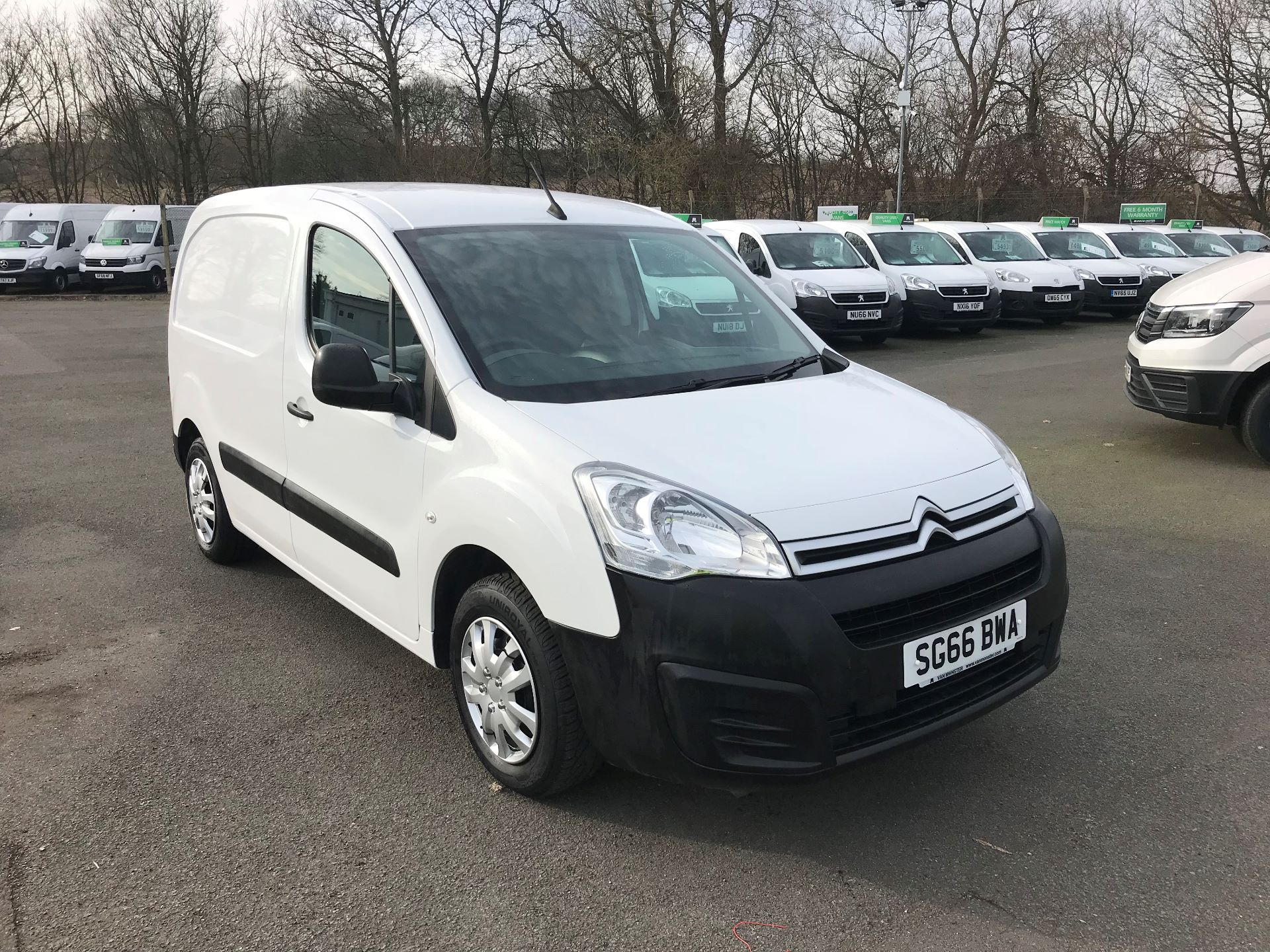 2016 Citroen Berlingo  L1 DIESEL 1.6 BlueHDI 625KG ENTERPRISE 75PS EURO 6 (SG66BWA)