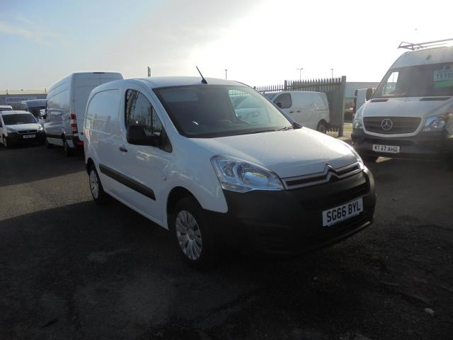 2016 Citroen Berlingo 1.6 Bluehdi 625Kg Enterprise 75Ps (SG66BYL)