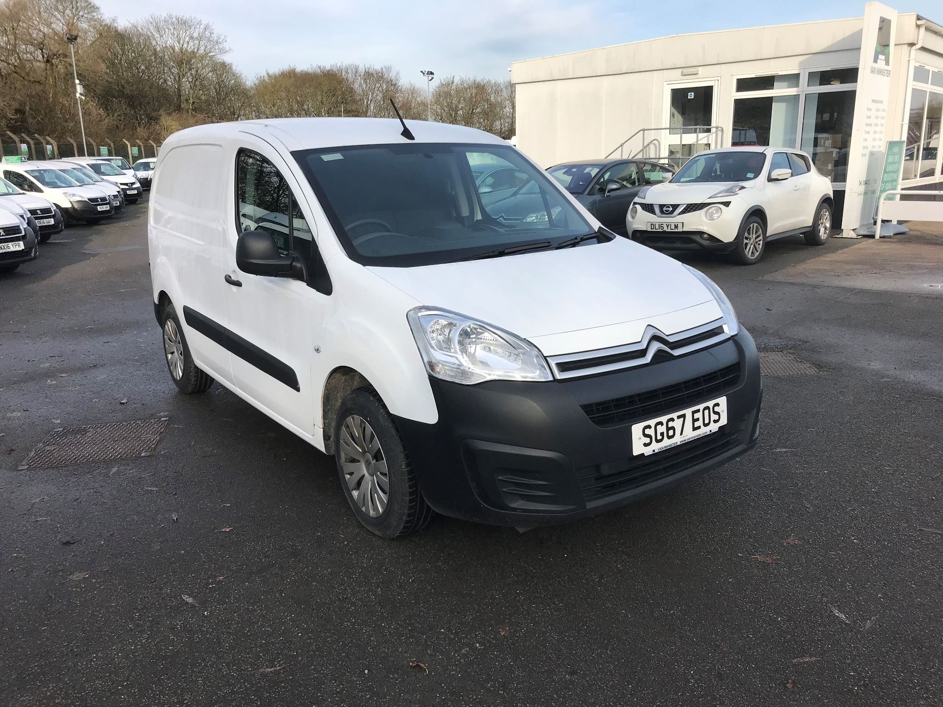 2017 Citroen Berlingo  L1 DIESEL 1.6 BlueHDI 625KG ENTERPRISE 75PS EURO 6 (SG67EOS)
